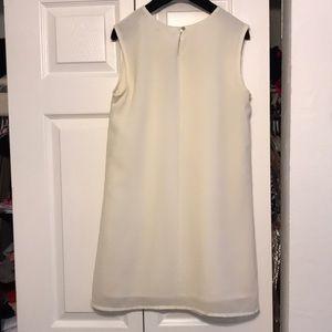 Forever 21 Dresses - White Embroidered Sheath Dress